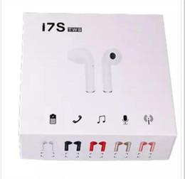 50 PCS / I7S TWS Sans Fil Bluetooth Casque Écouteurs upgrade 5.0 avec Chargeur Étui Jumeaux Mini Bluetooth Écouteurs pour iPhone X IOS Android ? partir de fabricateur