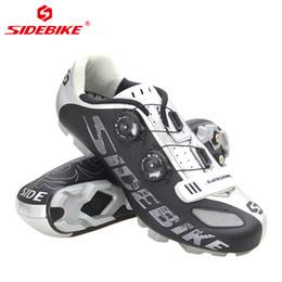 2019 zapatillas de ciclismo nuevas Sidebike Nuevo estilo Zapatillas de bicicleta de carretera Ultraligeras transpirables Zapatillas de bicicleta de ciclismo de autocierre Zapatilla de deporte Ciclismo zapatillas de ciclismo nuevas baratos