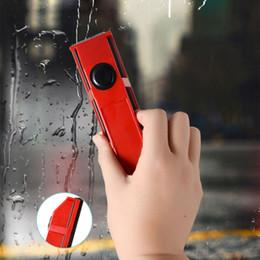 tela magnética Rebajas Limpiador de ventanas magnético para ventanas de acristalamiento simple Herramienta de limpieza de vidrio útil portátil con tela para uso doméstico