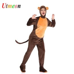 2019 animais sexy UTMEON Adulto Traje Do Rato De Jerry Cosplay Trajes De Animais para o Dia Das Bruxas sexy animais sexy barato