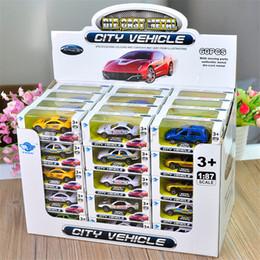 Voitures en métal coulé en Ligne-Die Cast Alloy Cars Model Toys Voiture de course City Véhicule Voiture Toys Metal DIE CasT Metal Cars Moldel