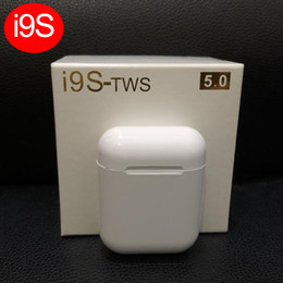 Canada Top vente I9S Tws 5.0 Écouteur Stéréo TWS Écouteurs pour IOS Android Phone Avec Boîte de Recharge Sans Fil Bluetooth Casque cheap iphone charge box Offre