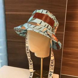 2019 cappelli di paglia ricamati Il nuovo cappello da pescatore della signora pescatore cappello da pescatore di colore sirena cappello da pescatore ricamato moda fascino tessuto di alta qualità