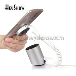 Противоугонный держатель телефона онлайн-10 шт. На 360 градусов повернуть мобильный телефон охранная сигнализация стенд планшетный дисплей держатель мобильного телефона iPad охранная сигнализация в розницу противоугонные