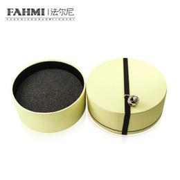 Produtos de doces on-line-FAHMI Clássico Doce Moda Jóias Rodada Caixa de Presente De Armazenamento Caixa de Proteção Produtos Periféricos Vendas Diretas Da Fábrica