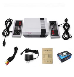 пластиковые картриджи Скидка Новое поступление Mini TV может хранить 620 игровых приставок Видео Ручной для NES игровых приставок с розничными коробками DHL