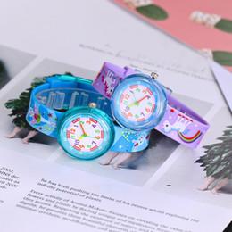 2019 as meninas assistem novo Dinossauro dos desenhos animados 3D Assista 11 Tipos de estilos de Silicone Macio Watchband Relógios Crianças Crianças Meninas Estudantes de Quartzo Relógios De Pulso Crianças Presentes Novo as meninas assistem novo barato