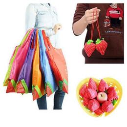 Sac pliable de grande taille de fraise qui respecte l'environnement qui respecte l'environnement met en sac la poche de stockage de sac à main de fraise ? partir de fabricateur