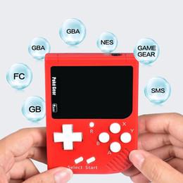 jeu de console gb Promotion Les consoles de jeu vidéo POKEGEAR PEUVENT STOCKER DES JEUX POUR GBC / GBA / FC / NDA / GB / SMS / GAMEGEAR nouveau