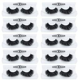 9e393bd6faa dramatic false lashes Promo Codes - 10Pairs lot eyelashes 3D mink eyelashes  long lasting mink lashes