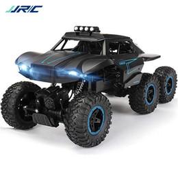 Nuovi camion di giocattoli online-JJRC D823 1/12 2.4G 6WD Rc auto fuoristrada Arrampicata su camion Crawler con HeadLight RTR Giocattoli 2019 Nuovo arrivo all'aperto RC Truck