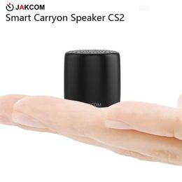 Wholesale JAKCOM CS2 Inteligente Carryon Speaker Venda Quente em Mini Alto falantes como aniversário baloon thankyou detector de presente de oro