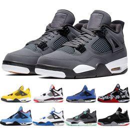 Wholesale Gris fresco Hombres Hombres nike air jordan retro s zapatillas de baloncesto Lightning Eminem Encore Cactus jack tatoo Volt green grow Zapatillas deportivas de diseñador