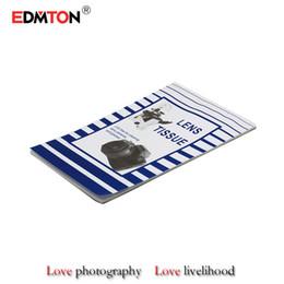 vetri bagnati Sconti Carta per lenti professionale di alta qualità Grandi formati 10 * 15 cm 50 fogli Carta per la pulizia dei tessuti della fotocamera DSLR spedizione gratuita per obiettivi