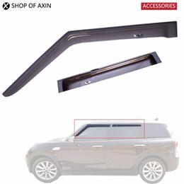 soleiras de porta peugeot Desconto Sol / Chuva Guarda acrílico translúcido cor smoky para Mini Cooper Countryman Hatchback Clubman R53 R55 R56 R57 R60 F54 F55 F60