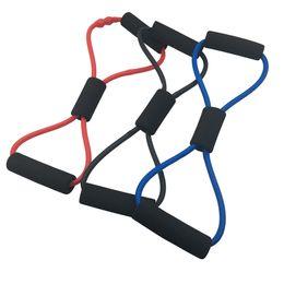 Yoga 8 Tirez sur la corde Fitness Sport Équipement de musculation Élastique Léger Durable Fournitures de yoga Matériel de musculation Tube thoracique ? partir de fabricateur