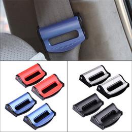 2019 extensiones del cinturón de seguridad del coche Car-styling 1 par de cinturones de seguridad para el automóvil Clips Extensor Ajustable Auto Enchufe Asiento de seguridad Tapón del cinturón Hebilla Extensión Clip de plástico extensiones del cinturón de seguridad del coche baratos