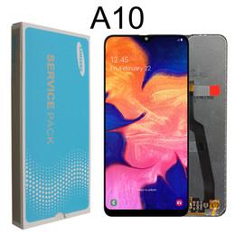 """2019 super tela de frete grátis 6.2 """"lcd original para samsung galaxy a10 a105 a105f sm-a105f lcd screen display substituição digitador assembléia + pacote de serviço"""