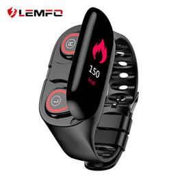 Lemfo m1 neueste ai smart watch mit bluetooth kopfhörer pulsmesser smart armband lange zeit standby sportuhr männer von Fabrikanten
