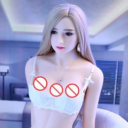 2019 av schauspielerin liebespuppen Weiche Haut erwachsene Geschlechtspuppen aufblasbare halbfeste Silikon-Puppe kleine Brust Sexpuppe reale Puppe für Männer
