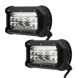"led-lkw-arbeitsleuchten Rabatt 12 V 168 Watt 5 ""LED Fahren Nebel Arbeitslicht Lampe für Jeep SUV Lkw Traktor 4WD PC Objektiv Aluminium Edelstahl"