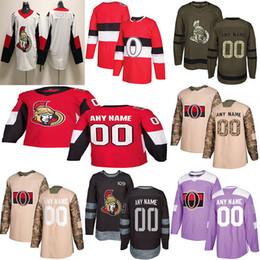 2019 Nachrichten Ottawa Senators Hockey Jerseys Mehrfache Arten Die Gewohnheit der Männer irgendein Name irgendeine Zahl Hockey Jerseys von Fabrikanten