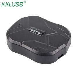 Dia de mp3 online-GPS Car Tracker TK905 TKSTAR 5000mAh 90 días en espera 2G vehículo Tracker GPS localizador imán impermeable voz Monitor de aplicación web gratuito