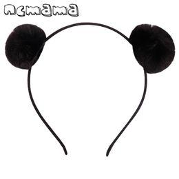Canada Belle Pompon Hairband Lapin Peluche Boule De Cheveux Bandeau Oreilles Élastique Cerceau De Cheveux Pour Enfants Accessoires de Cheveux C19021601 supplier elastic silicone Offre