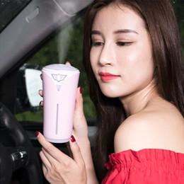 2019 humidificateur à humidité chaude nouveau 3 Couleurs Creative Chapiteau Coloré Humidificateur USB Mini Voiture Maison Purification De L'Air Life Life Appliance Été Humidificateur Garder L'Air Humide