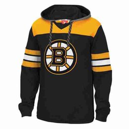bruins hoodies UK - Women Men Custom Boston Bruins Hoodies Bobby Orr Torey  Krug Cam Neely 588365332