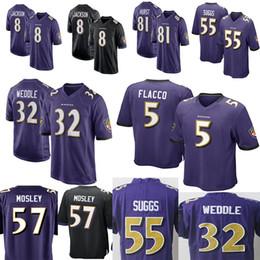 Ravens  8 Lamar Jackson 81 Hayden Hurst Jersey Men s 9 Justin Tucker 32  Eric Weddle 55 Terrell Suggs 57 C.J. Mosley Jerseys f3ec0e0da