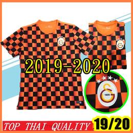 e0c47cbc0 New 2019 -2020 Galatasaray soccer jerseys home LUYINDAMA Champions League  19 20 BELHANDA Onyekuru MITROGLOU BADOU GUMUS FOOTBALL SHIRTS