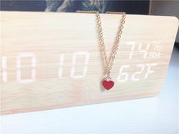 porcellana di gioielli in oro 18k Sconti cecmic cuore rosso amore costume gioielli delle donne collana moda gioielli piastra d'oro fare fornitore cina all'ingrosso