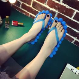 2019 tongs à bulles Dropshipping Pantoufles Chaussures Femmes Plage Pantoufles Tongs Sandales EVA Tongs Plate-forme Femme Bubble Flat Sandals