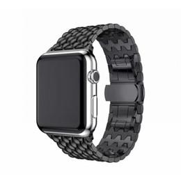 Для Apple Watch Series 38/42/40 / 44mm Modern Fashion Смотреть Band Мужчины Женщины Браслет из нержавеющей стали для iWatch 4 3 2 1 от Поставщики натуральная краска