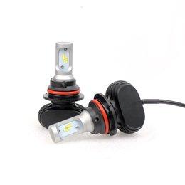 2019 bombilla led roja h4 mejor sistema de iluminación automático calidad llevó 9007 9004 4000LM 6500K luces del coche de automóviles