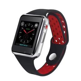 Емкостные часы онлайн-M3 Smart Wrist Watch SmartWatch с процессором MTK6261A 1,54-дюймовый ЖК-дисплей OGS емкостный сенсорный экран Слот для SIM-карты Камера для Apple ПК DZ09 Часы