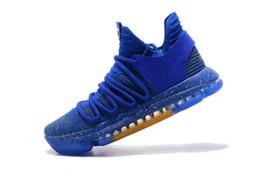 Дешевле 2019 Кевин Дюрант 10 Повседневная обувь Повседневная обувь мужчины высокое качество KD 10 кроссовки Kd10 спортивная обувь размер 7-12 от