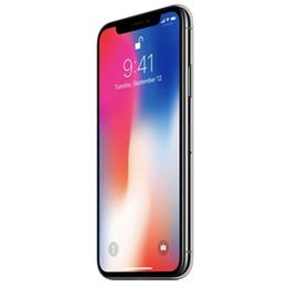 Camara x online-Restaurado Desbloqueado Original Apple iPhone X con ID de rostro Hexa Core 64GB 256GB 5.8inch Estimado teléfono con cámara trasera de 12.0MP