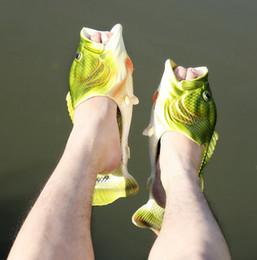 Tipo chinelos on-line-Verão bebê menina menino chinelo moda lazer verão praia peixe sapatos tipo criativo chinelos de peixe