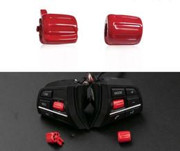 Botones de interruptor de goma online-1pair / set de dirección del interruptor de la rueda de coche multifunción de coches Accesorios de goma para 5/7 Serie F02 F10 GT