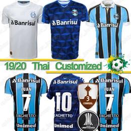 2019 mejor futbol tailandes camisa tailandesa 2019 Gremio Paulista de Fútbol jerseys 19 20 Gilchmei Mejor Gremio JohnAth MILLER LUAN Marlone Azevedo da Silva mujer de Fútbol