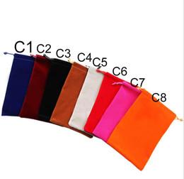 Tamanho pequeno 7x9 cm Bolsa com cordão de veludo / Saco de jóias saco de presente moda saco de veludo frete grátis de Fornecedores de organizador de homens