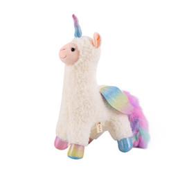 2019 materiais montessori atacado Fábrica de Atacado O Novo Criativo PP Algodão Anjo Alpaca Ragdoll Brinquedo De Pelúcia Curto Crianças Bonecas de Pelúcia