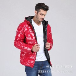 d412586b0e4dc Shiny Men Winter Down Jacket Male White Duck Down Coat Plus Size Thickening Hooded  Men s Outerwear 2019 Fashion 8XL 7XL 6XL 5XL discount shiny men down ...