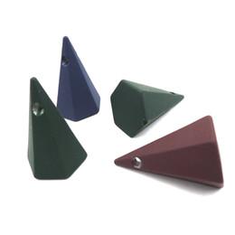 3d нерегулярные конус шарик для ювелирных изделий Оптовая геометрическая минималистский 3 цвета темный EA435 от