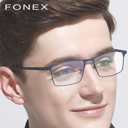 6191ecb0a6f TR90 Titanium Optical Glasses Frame Men Ultralight New Square Myopia  Prescription Eyeglasses Women Full Korean Screwless Eyewear