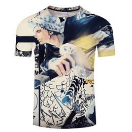 Multi chopper plus en Ligne-One Piece Mignon Chopper T-shirts Hommes Femmes 3D Anime Chemises 2018 Nouvelle Mode Hip Hop D'été T-shirt Casual T-shirt, Plus La Taille S-5XL