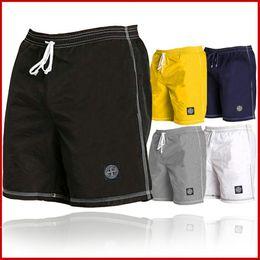 45fd4d5170b26 Summer mens swimwear boys Board shorts pants navy beach surfing shorts men  swimming trunks swim short swimsuit Elastic M-3XL