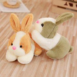 2019 lapin de lapin de pâques Lapins de Pâques jouets en peluche animaux en peluche décoration de lapin 22cm mignon lapin doux animaux cadeaux pour les enfants promotion lapin de lapin de pâques